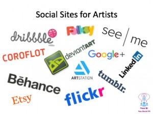 Social Sites for Artists